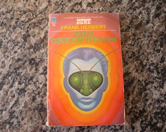 The Green Brain By Frank Herbert Paperback Science Fiction Book