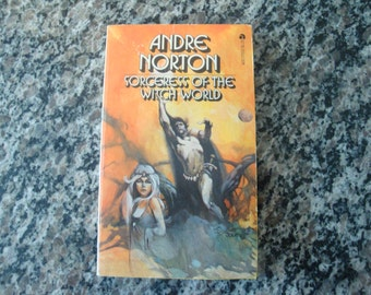 The Sorceress of the Witch World By Andre Norton Paperback Science Fiction book