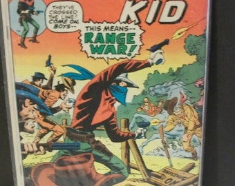 1974  The Outlaw Kid  #23  Range War Fair Reading Copy Vintage  Western Cowboy Marvel Comic Book