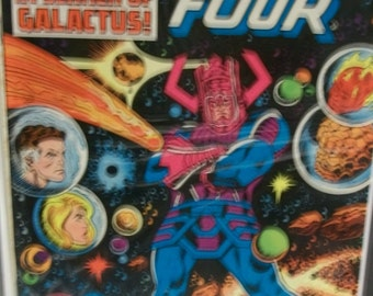 1979  Fantastic Four #210 In Search Of Galactus 1st Terrax  Good-VG Condition Vintage Marvel Comic Book