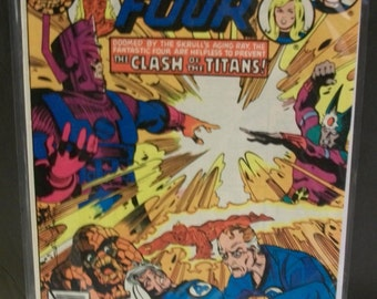 1979  Fantastic Four #212 In  Galactus 2nd Terrax Galactus New Herald  VG-VF Condition Vintage Marvel Comic Book