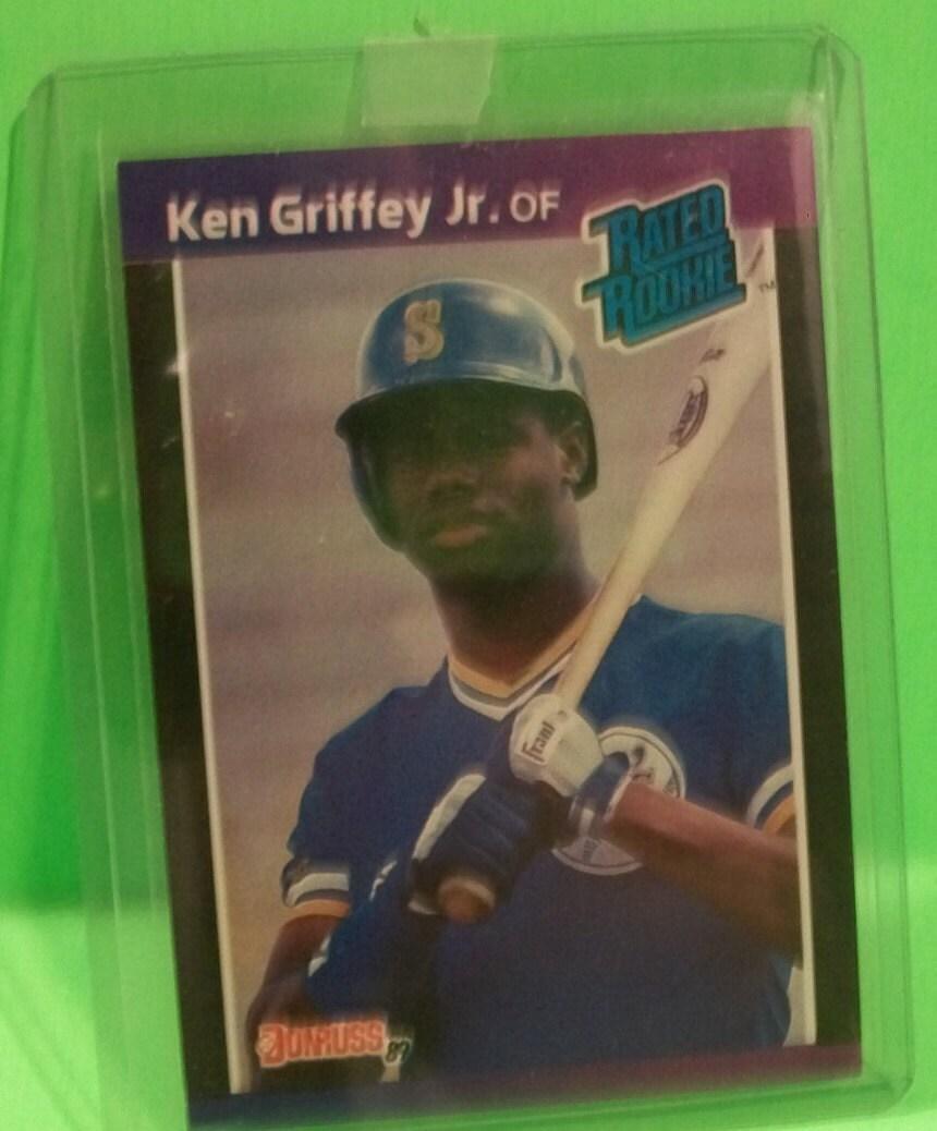 1989 Donruss Ken Griffey Jr Rated Rookie MLB Baseball Rookie