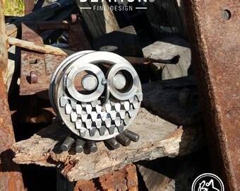 Owl Animal Metal Art Small