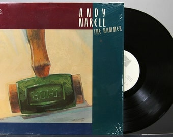 Andy Narell - The Hammer - Vinyl LP Record Album Steel Drums 1987