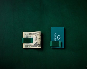 Free ship Moneyclip Wallet [GREEN] - Free shipping worldwide. 1 day ship out
