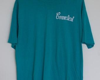 Vintage Oversized Connecticut Tshirt