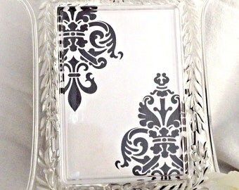 glass picture frame home decor mikasa picture frames vintage picture frame vintage - Mikasa Picture Frames