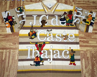 mint used JC castel bajac sports bundel of bears shirt size 3