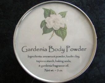 Gardenia Body Powder, Body Powder, Natural Powder, Talc Free Powder, Bath Powder, Powder, Bath and Body, Dusting Powder, Bridal Gift