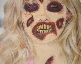 Zombie..Hilary Duff
