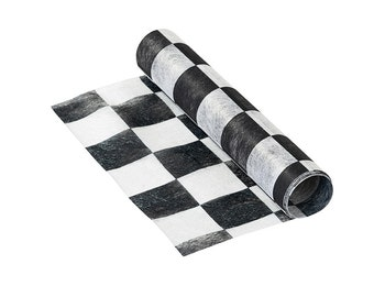 Alice In Wonderland Mix & Match Check Table Runner