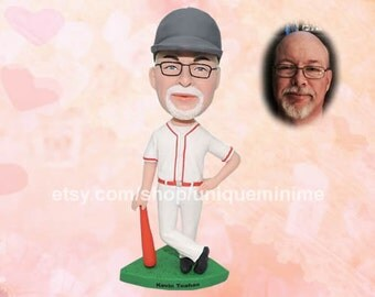 Grandpa's Garage Father's Birthday gift for grandpa gift for dad Custom gift for men Custom Bobblehead dolls for husband