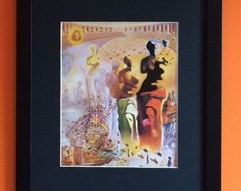 Hallucinugenous Bullfighter by Salvadore Dali 40cms x30cms