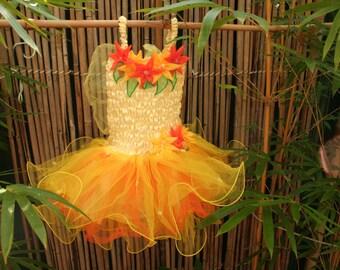 Sunflower Fairy Dress