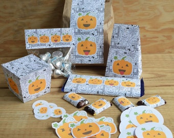 Pumpkins candies pack