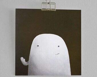 Hello, Blob - 'Blob' - Hand made card
