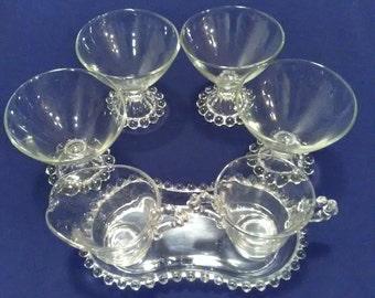 Knobby Glass 7 Piece Set