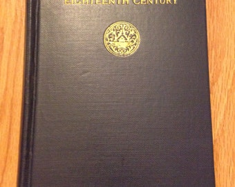 1918 English Poets of the Eighteenth Century Book