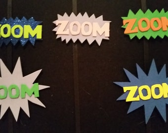 ZOOM! action hair clips