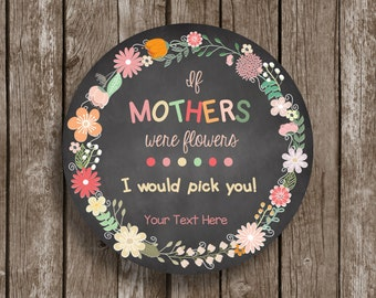 50% OFF SALE - Mother's Day - Printable Card - Editable - Chalkboard - Instant Download - PDF