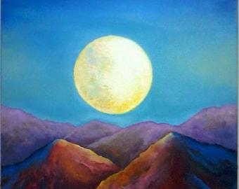 EDOM MOUNTAINS - Fine Art Original Prints