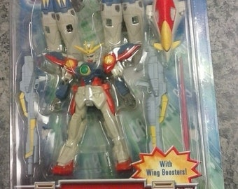 Bandai Gundam Wing mobile suit Wing Gundam ZERO action figure 1995