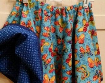 Reversible twirly skirt