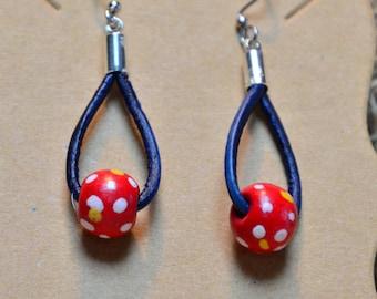 Whimsical fun earrings!
