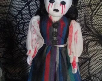 Tears of blood doll
