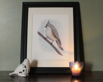 Print: Tufted Titmouse