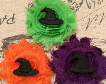 Witch Hat hair clip/ witch hair bow/ halloween hair bow/ halloween hair clip/ witch hair bow