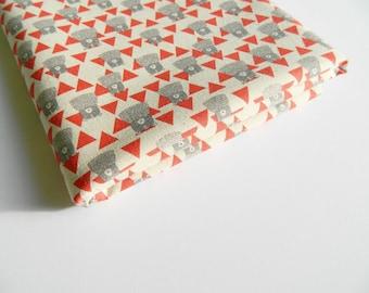 Trefle Bear Kokka Fabrics Japan