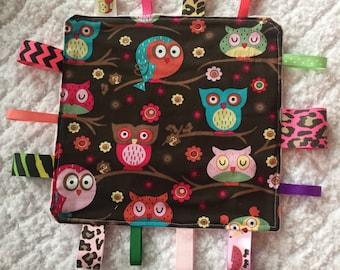 Owl Baby Sensory Toy
