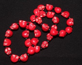Red Bracelets
