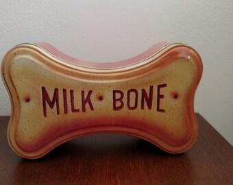 Milk Bone Tin