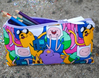 Adventure Time Coin Purse and Pencil Pouch