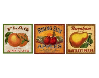 Fruit Labels- Fruit Crate Labels