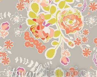 Woven Fabric - Sweet as Honey Orchard Blossom Autumn - Fat Quarter Yard +