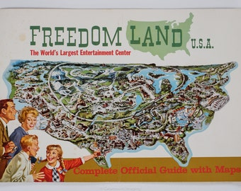 Freedomland USA 1960 Complete Official Guide with Maps