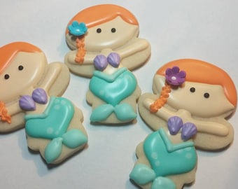 Cute Mermaid Cookies
