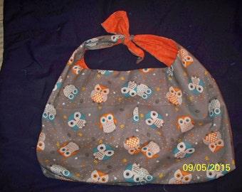 homemade reversible hobo bag