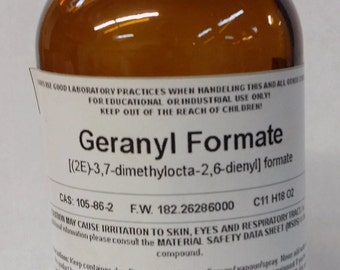 Geranyl Formate High Purity Aroma Compound 30ml (1 fl oz)