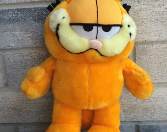 Vintage 80s Garfield Plush