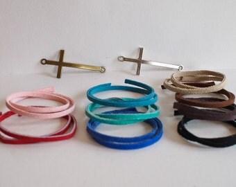 Diffusing Cross Bracelets