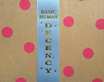 Basic Human Decency Award Ribbon