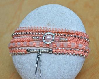 Unique, handmade bracelet stack