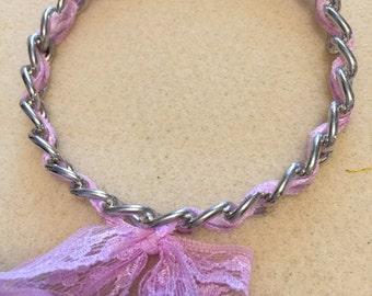 ribbon bangle bracelet