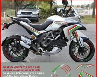 Stickers Moto Motorcycle Ducati Multistrada Vinyl Decal - Ducati motorcycles stickers