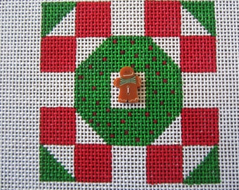 Christmas Quilt Needlepoint canvas
