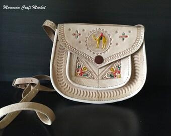 Moroccan Leather Small Purse